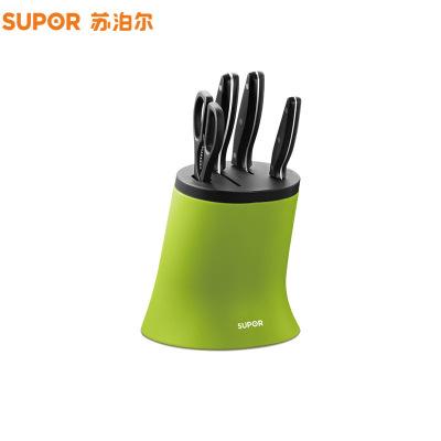苏泊尔(SUPOR)T0727游刃系列Ⅰ刀具五件套(绿色)