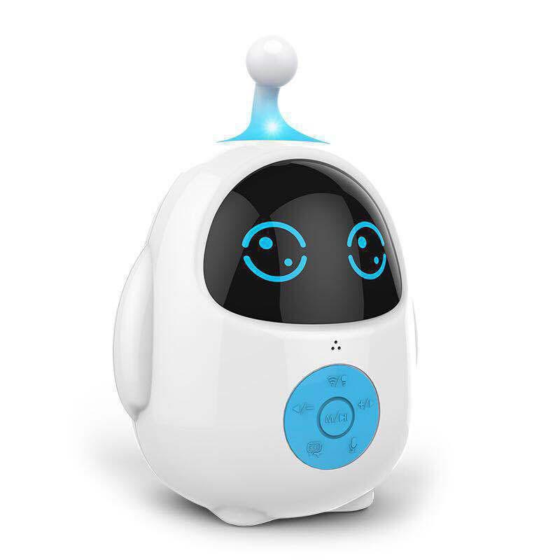 玮誉(WEIYU)儿童语音对讲机器人Q蛋儿童早教学习机陪伴机智能机器人小学教材同步PVC环保材质