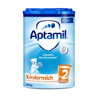 aptamil德国爱他美婴儿配方奶粉2+/5段800g(2岁以上)易乐罐 原装进口