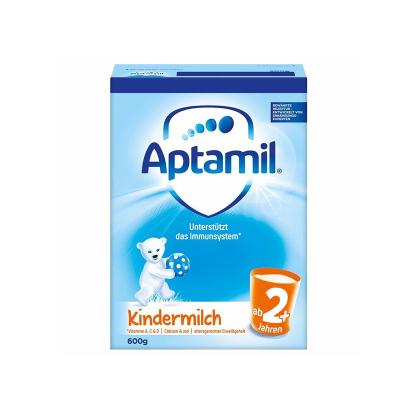 aptamil德国爱他美婴儿配方奶粉2+/5段600g(2岁以上)易乐罐 原装进口
