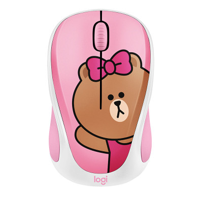 罗技(Logitech)LINE FRIENDS无线鼠标-丘可CHOCO 礼品 送女友送闺蜜 生日礼物 女生礼物可爱鼠标