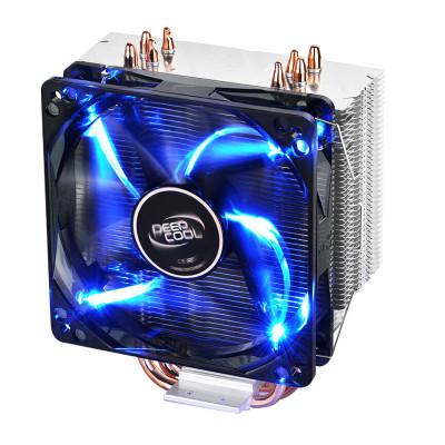 京天(KOTIN) 九州风神玄冰400 LGA115X/AMD多平台支持风扇风冷散热器电脑主机CPU散热器蓝色炫光