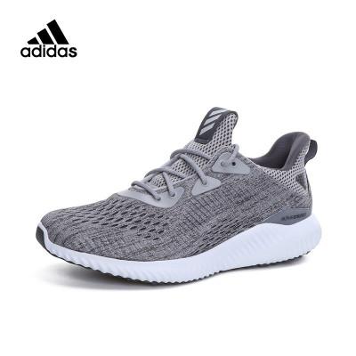 苏宁易购 adidas 阿迪达斯 alphabounce 男女跑步鞋319元包邮(用券)  309.00