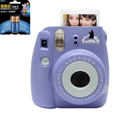 【套餐】富士(FUJIFILM)INSTAX 一次成像相机 MINI8 相机 熊本熊 蓝色+金霸王5号电池2粒装