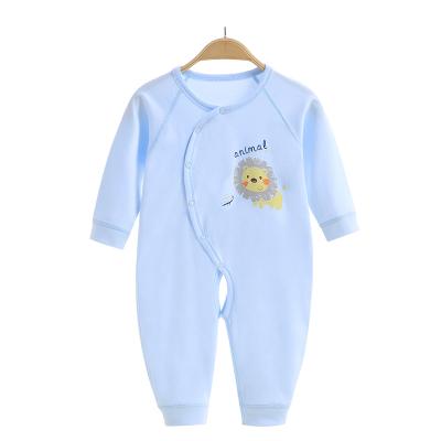 亿婴儿 婴儿连体衣婴儿衣服纯棉新生儿连体衣宝宝内衣爬服哈衣2132