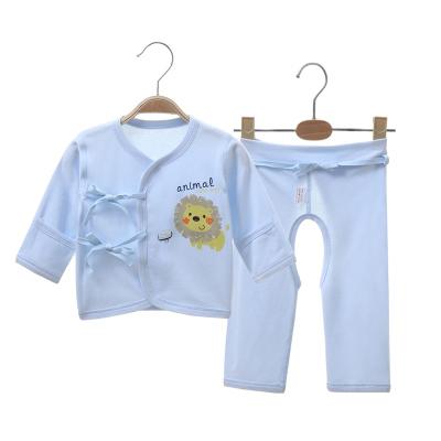亿婴儿 婴儿衣服偏襟和服套装新生儿衣服纯棉宝宝内衣套装2127