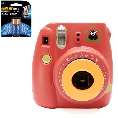 【套餐】富士(FUJIFILM)INSTAX 一次成像相机 MINI8 熊本熊 红色(10张相纸)+金霸王5号电池