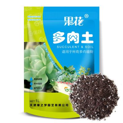 津沽园艺 多肉植物营养土培养土 泥炭土 蛭石 珍珠岩 多肉土 多肉混合土1包装