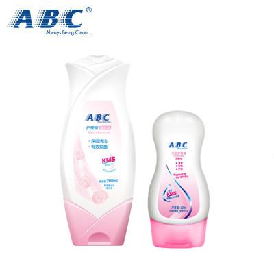 ABC 女士 卫生护理 清洁 私处洗液200ml送50ml