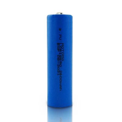 MOTOMA 18650锂电池1节装充电电池 3.7V尖头2600毫安锂电池 适用强光手电筒小风扇电动玩具