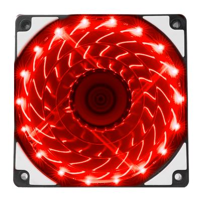IPASON/攀升 VTG台式炫光静音光轮电脑机箱风扇12cm机箱散热风扇 红色灯珠风扇